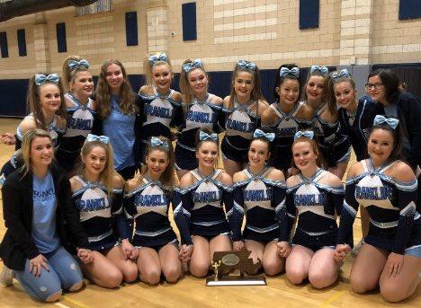 FHS Cheerleaders take 2nd in Regional Meet