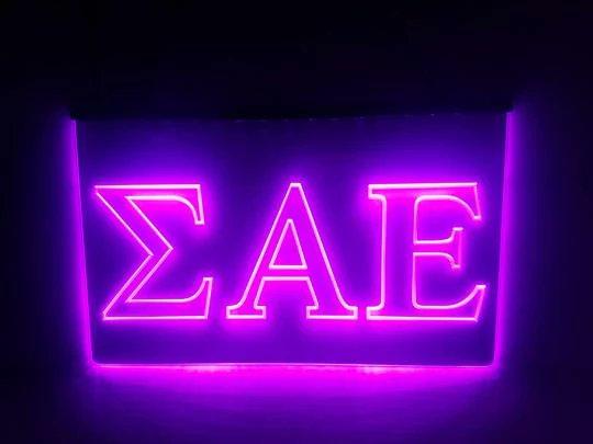 Beta Theta Pi LED Sign Greek Letter Fraternity Light