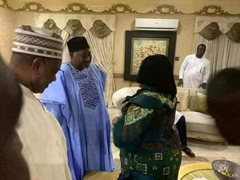 Image result for Jonathan hosts APC governors in Otuoke