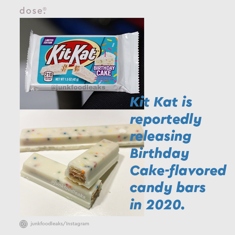 According to the packaging, the limited-edition flavor will feature 'crisp wafers in birthday cake flavored white creme with sprinkles.'