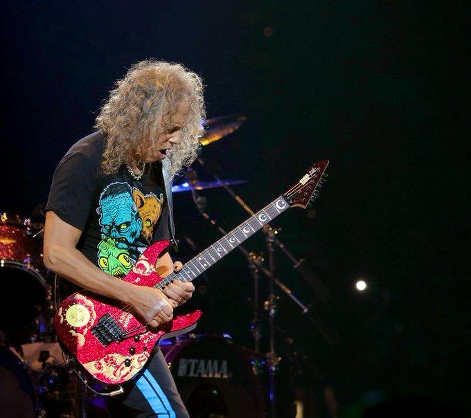 HAPPY BIRTHDAY Kirk Hammett  METALLICA          Kirk