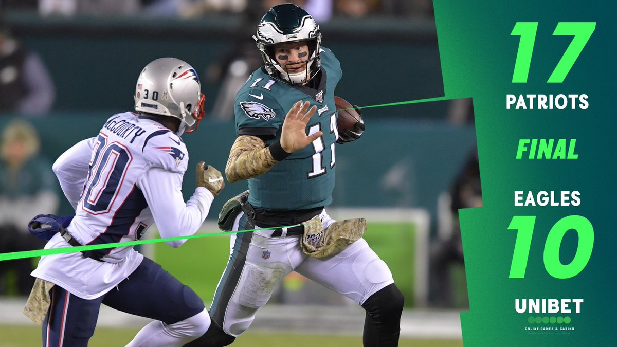 Defense was solid, but wasn't enough. Offense couldn't do a thing. Onto the next one! #FlyEaglesFly  <br>http://pic.twitter.com/9JeJqPP1G0