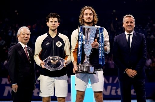 After finishing runner-up to Stefanos #Tsitsipas at the #ATPFinals, Dominic #Thiem is convinced men's tennis will crown a new Grand Slam champion next year  Read more >  http:// bit.ly/Thiem2020     <br>http://pic.twitter.com/eWrLykz0My