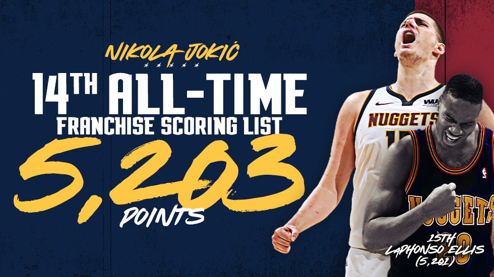 That bucket moves Nikola up on our scoring list!