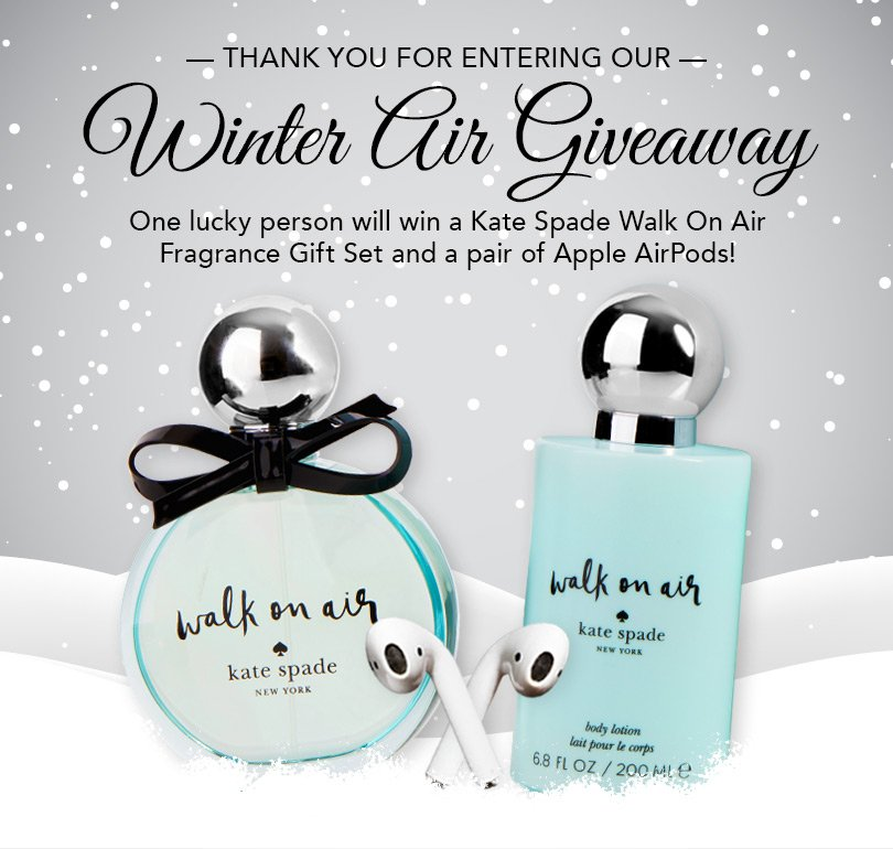 https://woobox.com/yi8ptm/m20kx5 #KateSpade #Apple #Airpods @apeshols #giveaway #perfume