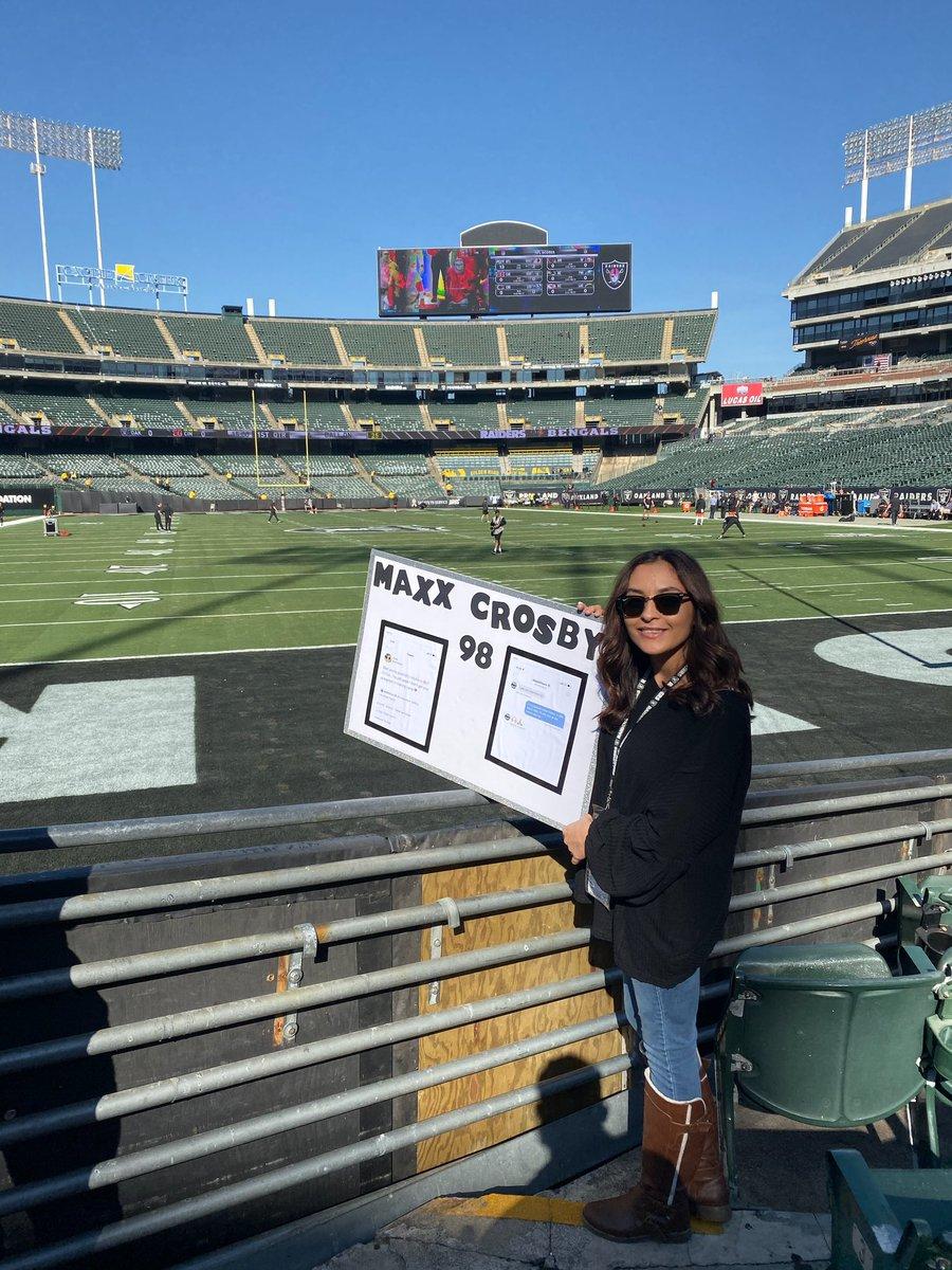 You daaaa best thank you!!! @CrosbyMaxx @Raiders #RaiderNation  #Raiders<br>http://pic.twitter.com/siCQ31YZNp