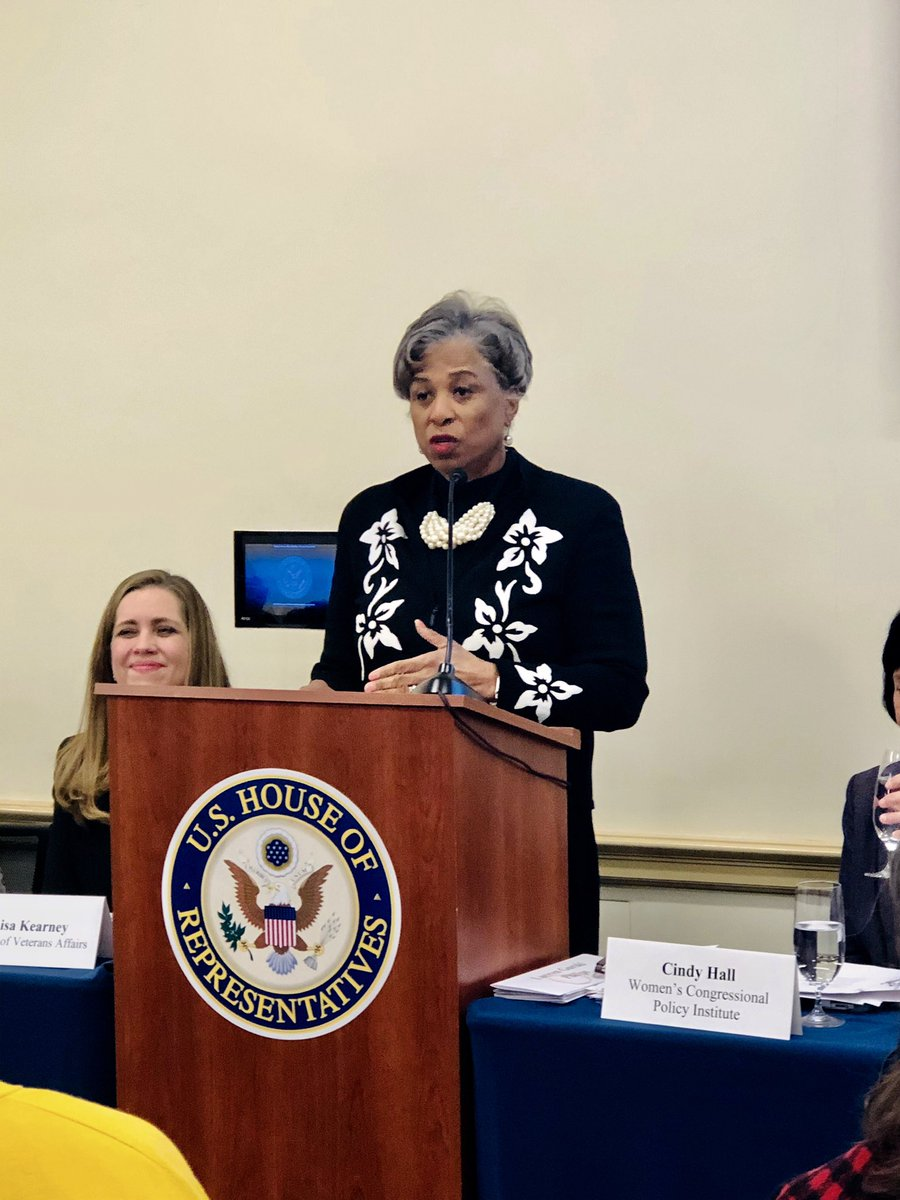 """I spoke at a congressional briefing on """"Improving Mental Health and Suicide Prevention among Women Veterans"""" discussing ways to support the increasing number of women veterans and the systematic challenges that remain."""