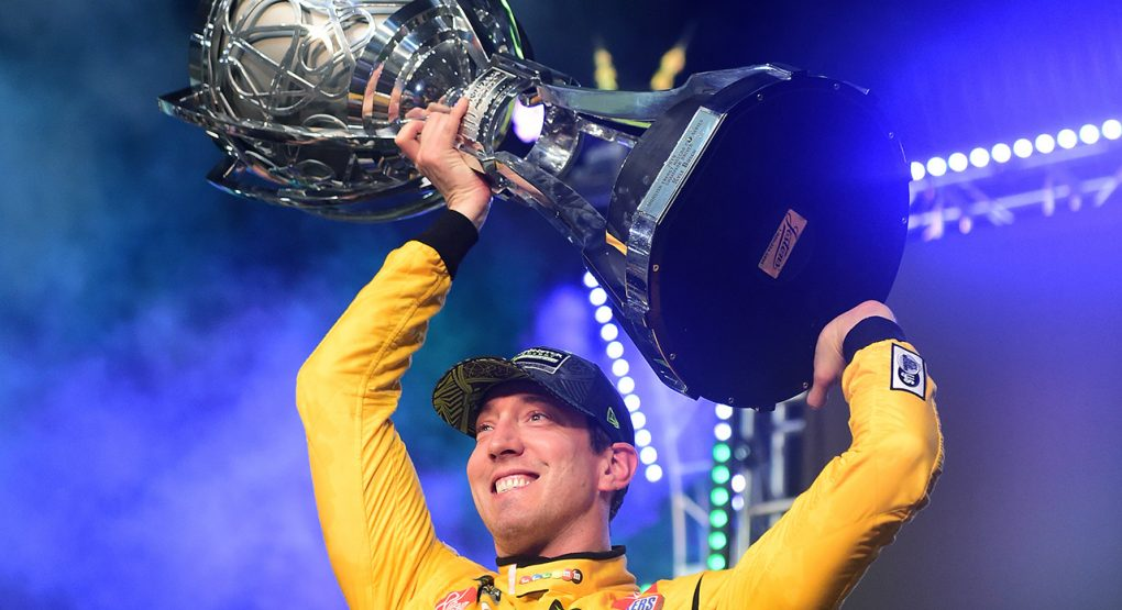 ICYMI: @KyleBusch Scores Second Championship   RACE RECAP & RESULTS:  http:// bit.ly/2Xlp8V8      #AskMRN | #Championship4 | #FordEcoBoost400<br>http://pic.twitter.com/d5d566mUkC