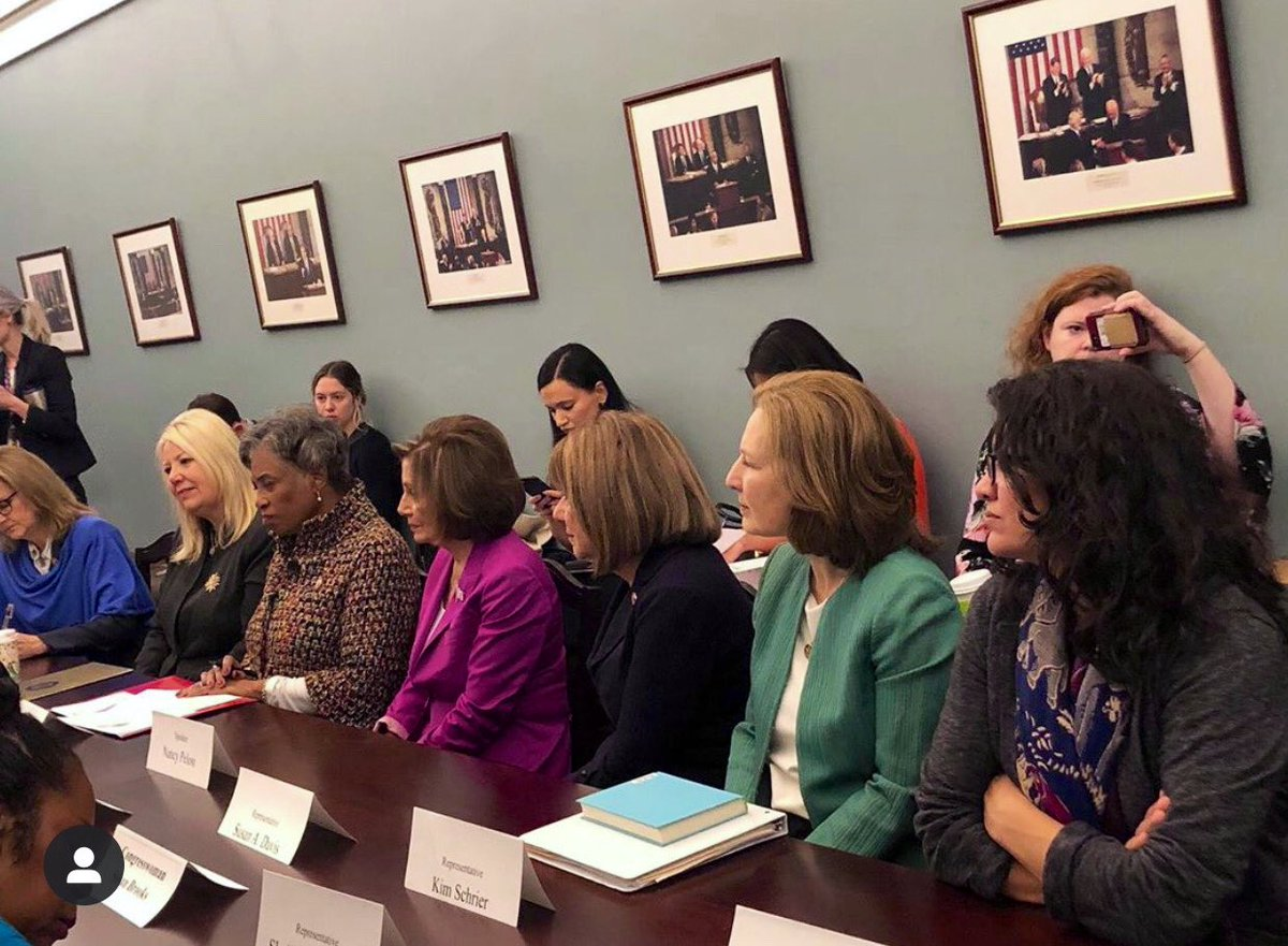 We concluded the week by hosting a Bipartisan Women's Caucus meeting with the First Lady of Afghanistan, H.E. Rula Ghani, to discuss the progress of women and their role in the peace process in Afghanistan.