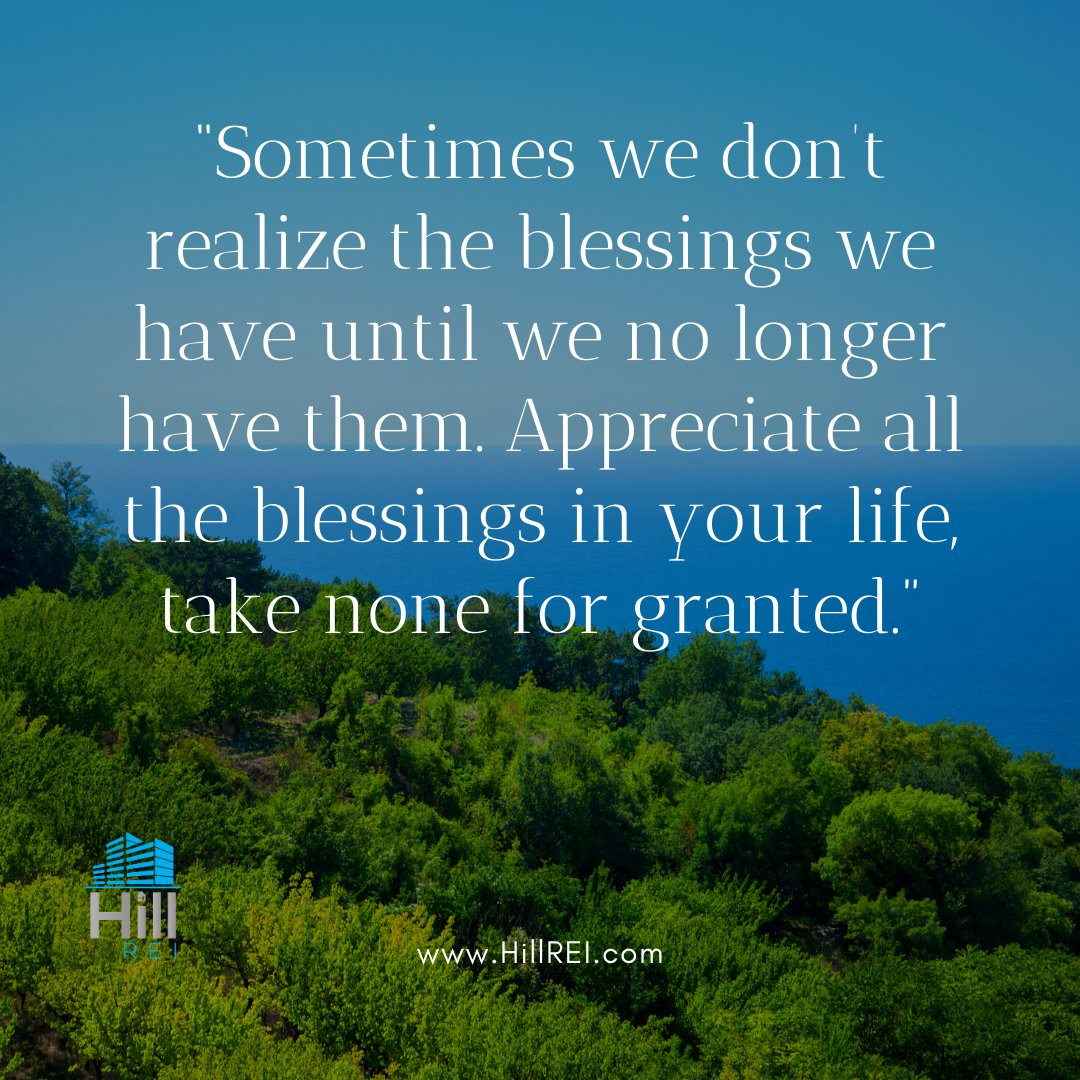Appreciate all the blessings in your life! ❤️  #hillrei #estatesales #realestate #flippinghouses #sales #cashflow #cash #money #investor #invest #fortworth #sherman #austin #dallas #texas #entrepreneur #motivation