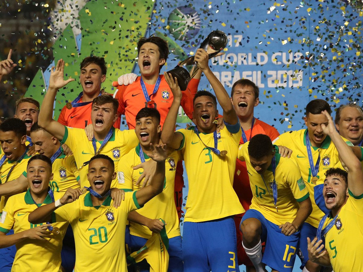 Late goals win Brazil fourth Under-17 @FIFAWorldCup title READ: http://toi.in/sEjbcb/a24gk #MexicoVsBrasil #MEXBRA #Brazil