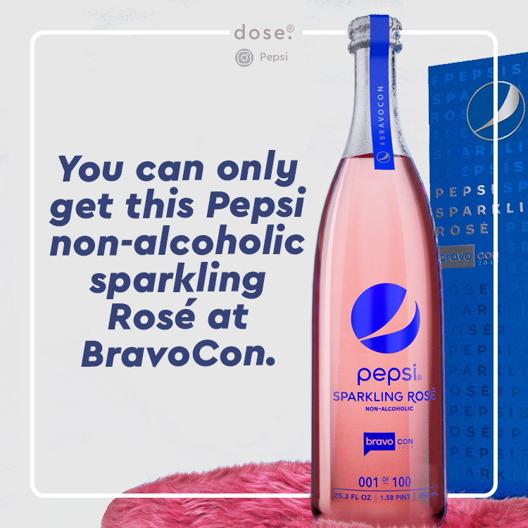 BravoCon is an event at which people celebrate The Real Housewives and other Bravo celebrities. Pepsi is teaming up with former Real Housewives of Beverly Hills star Lisa Vanderpump to create the drink.