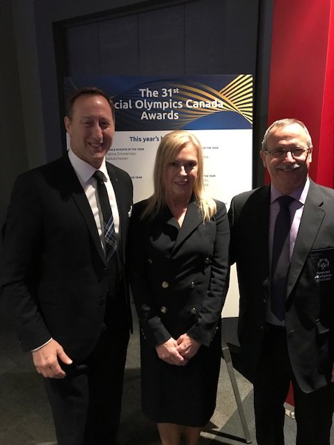Big night for Nova Scotians at the @SpecialOCanada awards nite.  Leslie Sobey and Terry Richardson both proudly from Pictou Co took home prestigious National awards for their incredible commitment and volunteerism. Amazing people who do so much in our community.