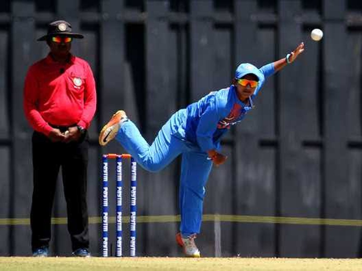 India Women shine again to win 4th T20I against Windies READ: http://toi.in/ljb_DY18/a24gk #WIWvINDW (In Pic: Anuja Patil)