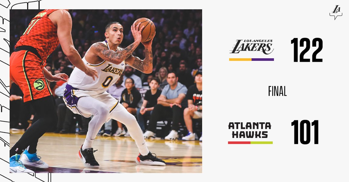 Show don't stop. #LakersWin