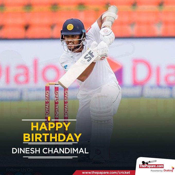 Former Sri Lanka Test captain turns 30 today.  Happy Birthday, !