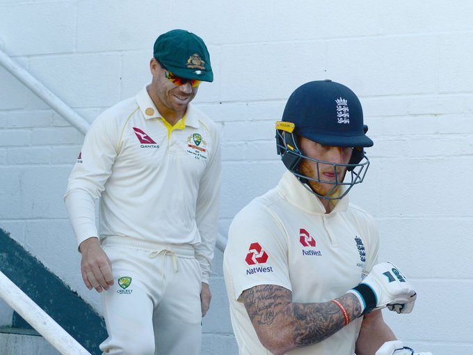 .@tdpaine36 hits out at @benstokes38 for 'cheap shot' at @davidwarner31READ: http://toi.in/erjbeZ41/a24gk#TimPaine #BenStokes #DavidWarner