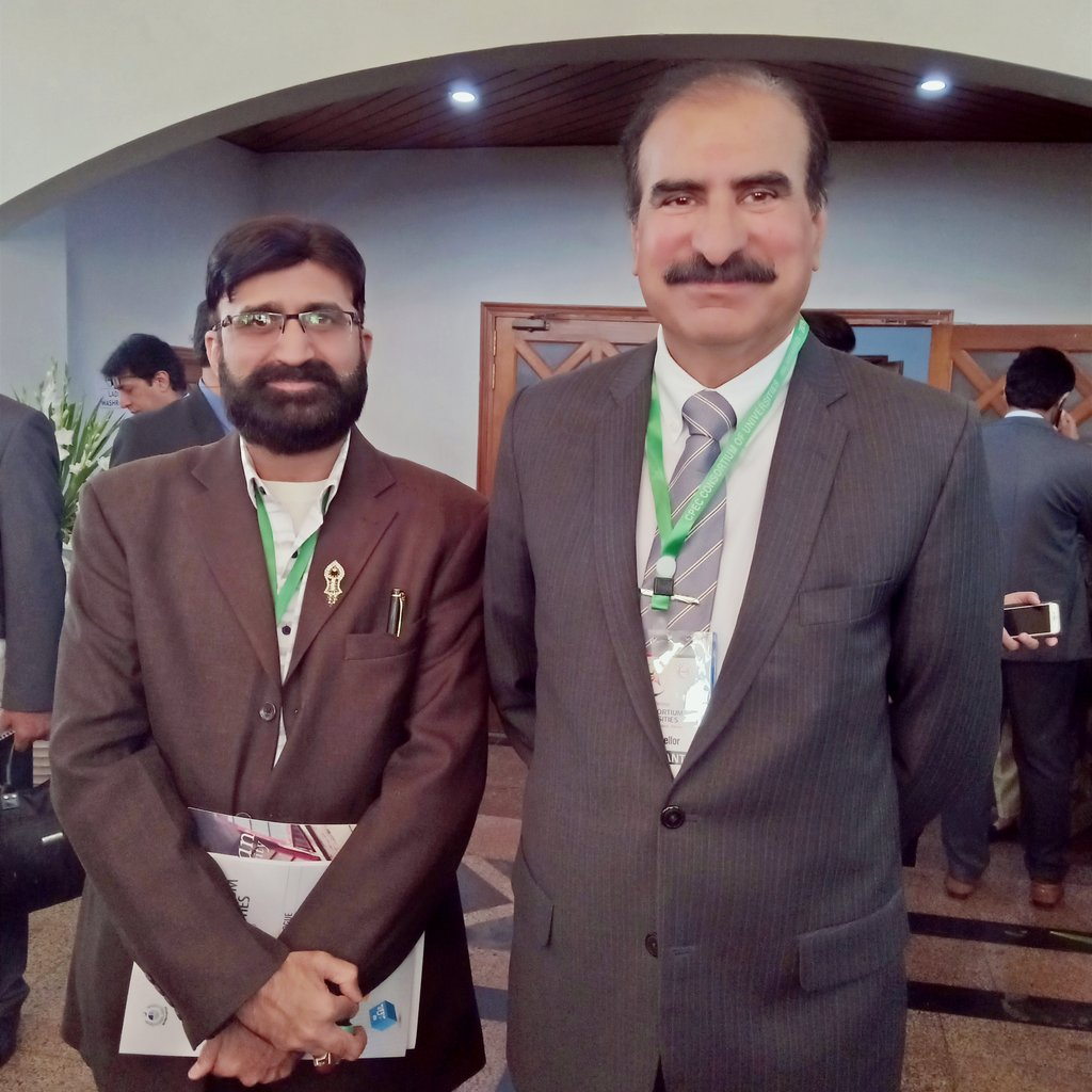 It's honor and pleasure to attend and participate in 3rd Annual Conference CPEC  Consortium of Universities at Jinnah Convention center Islamabad along with Rector NUML Maj Gen Jaffar Hussain and other members of Departments