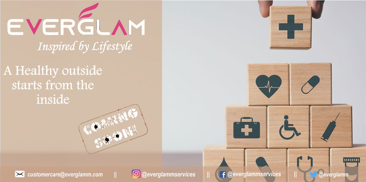 With the Everglamm app, getting the health care products and services you need is simple. Download the easy-to-use Everglamm App to conveniently order & book appointment from anywhere, at any time. We are coming soon to help you lead a healthy lifestyle. #healthcare #everglamm