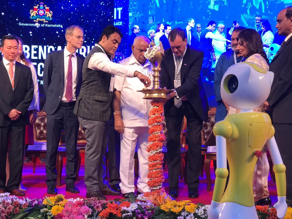 test Twitter Media - Sir Dominic Asquith jointly inaugurates @blrtechsummit with @CMofKarnataka @BSYBJP, Dy CM @drashwathcn & @TVMohandasPai @kiranshaw, @kris_sg.   HC @UKinIndia emphasises #ArtificialIntelligence, #cybersecurity & #fintech as the three pillars of vibrant #tech ties between 🇬🇧 & 🇮🇳. https://t.co/jfs63AvkY5