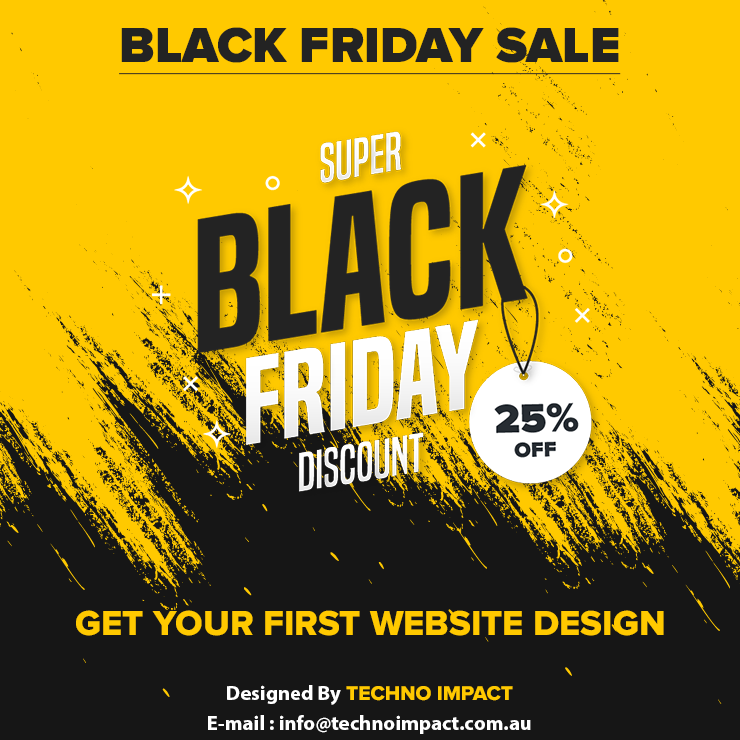 #TechnoImpact now comes to USA- Excited about Black Friday 2019? We are offering a 25% discount for those who are looking for Web Development, Mobile Development, and Digital Marketing Services#blackfriday2019 #BlackFridayDeals #USA #UK #Website #SEO #webdesigning #landingpage<br>http://pic.twitter.com/oj93lCxSt6