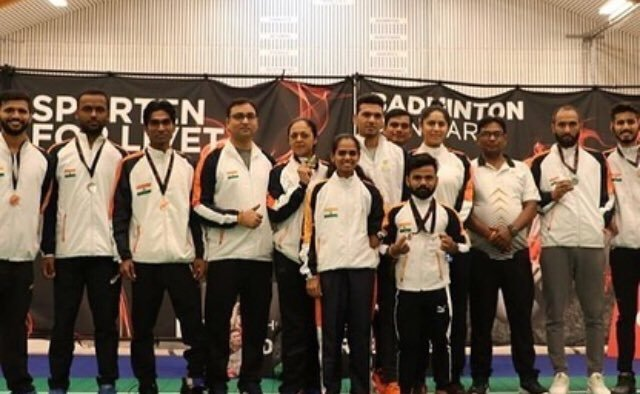 A commendable performance by our Para-Shuttlers at #ParaBadminton International Tokyo Olympic Test Event held in Japan from November 11th to 17th 2019. The team clinched 7 medals including 2🥇, 1🥈& 4🥉.Well done team!👏#IndiaontheRise