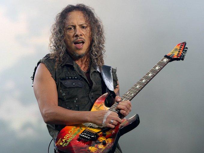 Feliz Cumple Kirk Hammett! Happy Bday Kirk Hammett!