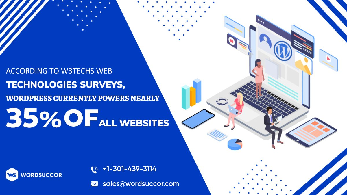 According to W3Techs web technologies surveys, WordPress currently powers nearly 35% of all websites. Do you know that ??? comment below  . . #wordpresswebsite #coder #CSS #cssanimation #design #designer #inspiration #work #webdesigner #coding #webdesigning #addictionofdesign<br>http://pic.twitter.com/yqlwG0uCGs