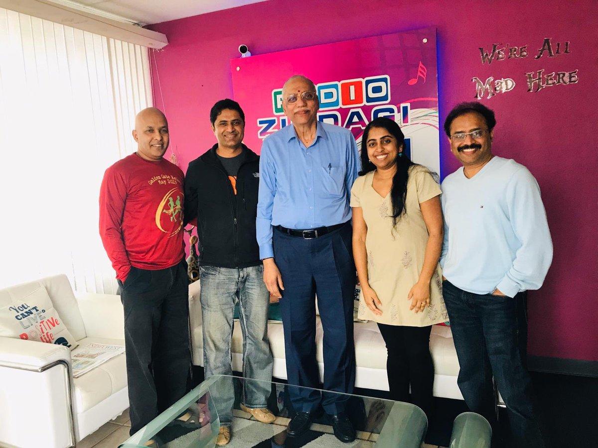 @DRBSSRINATH was on a live radio show, #BengaluruVoice, Radio Zindagi on 16th November 2019