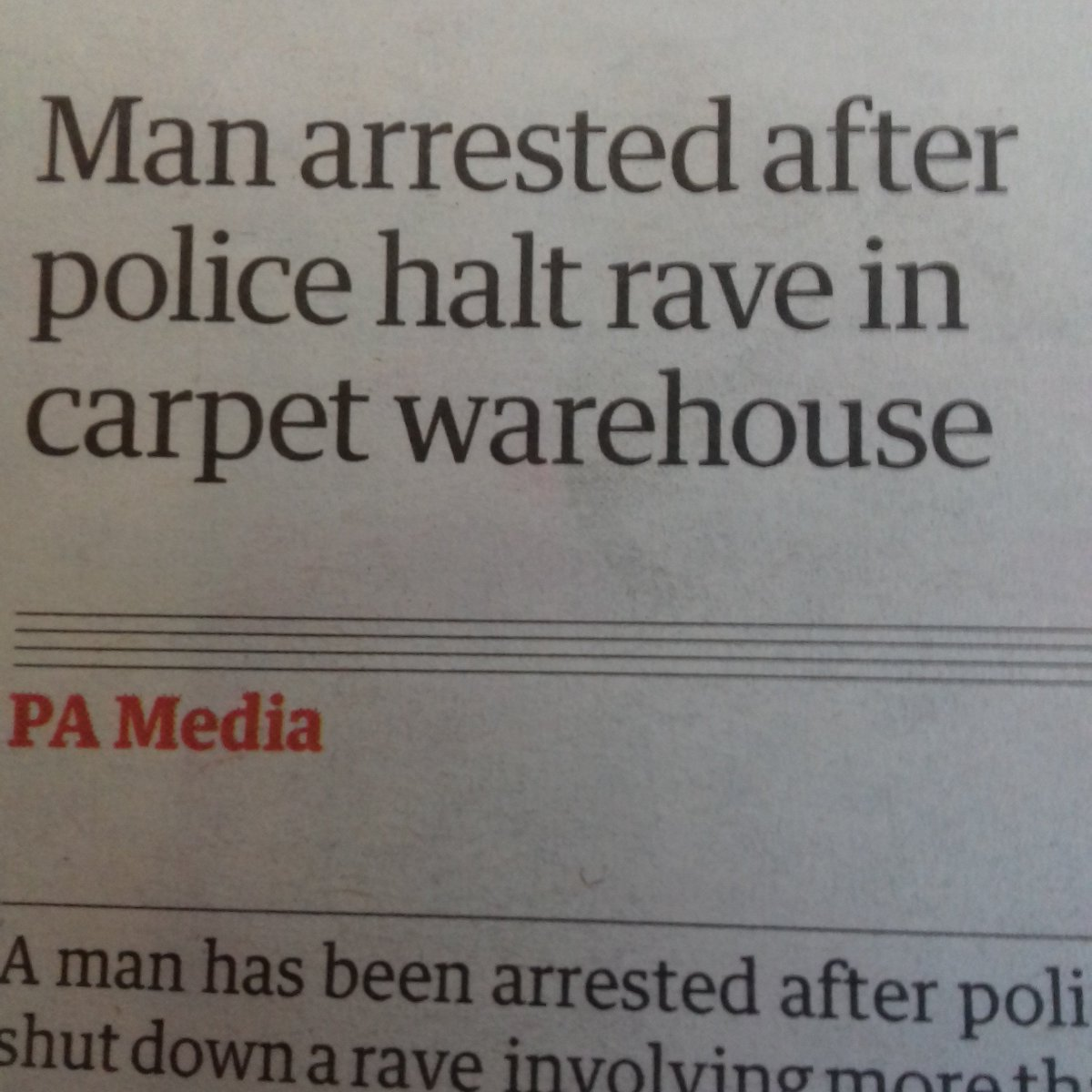 They were taking illegal rugs.