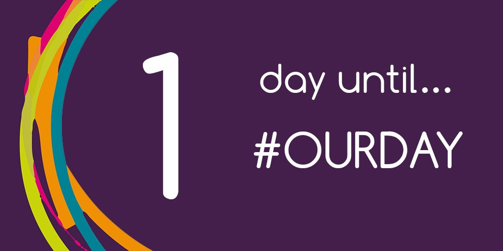 RT @LGAcomms 1 DAY TO GO...  #OurDay is happening tomorrow and we can't wait to see what you all have planned!  Join in with the biggest celebration of #localgov   https://t.co/19F7K6j6LY