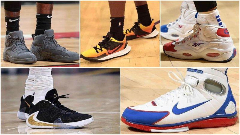 球鞋匯 | NBA球員今日球鞋上腳:字母哥一代又有新配色,詹皇霸氣上腳LeBron 17!