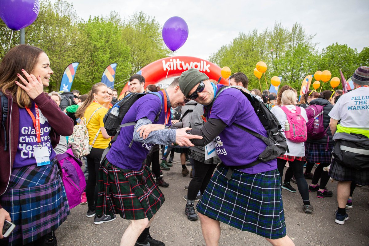 Morning Kiltwalkers! 👋  It's Monday but we're feeling motivated at Kiltwalk HQ because the countdown is on until Kiltwalk Glasgow 2⃣0⃣2⃣0⃣ 🗓️  You can sign up right now 👣👉   #KiltwalkGlasgow #MondayMotivation