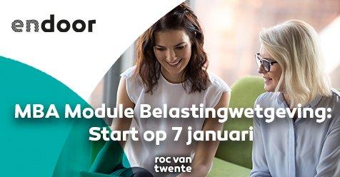 De module Belastingwetgeving van MBA Moderne Bedrijfsadministratie start op 7 januari 2020!  Wil jij het jaar met nieuwe kennis beginnen? Schrijf je dan nog snel in op onze website: http://bit.ly/MBABelastingwetgevingTW…pic.twitter.com/uBp16UlpbR