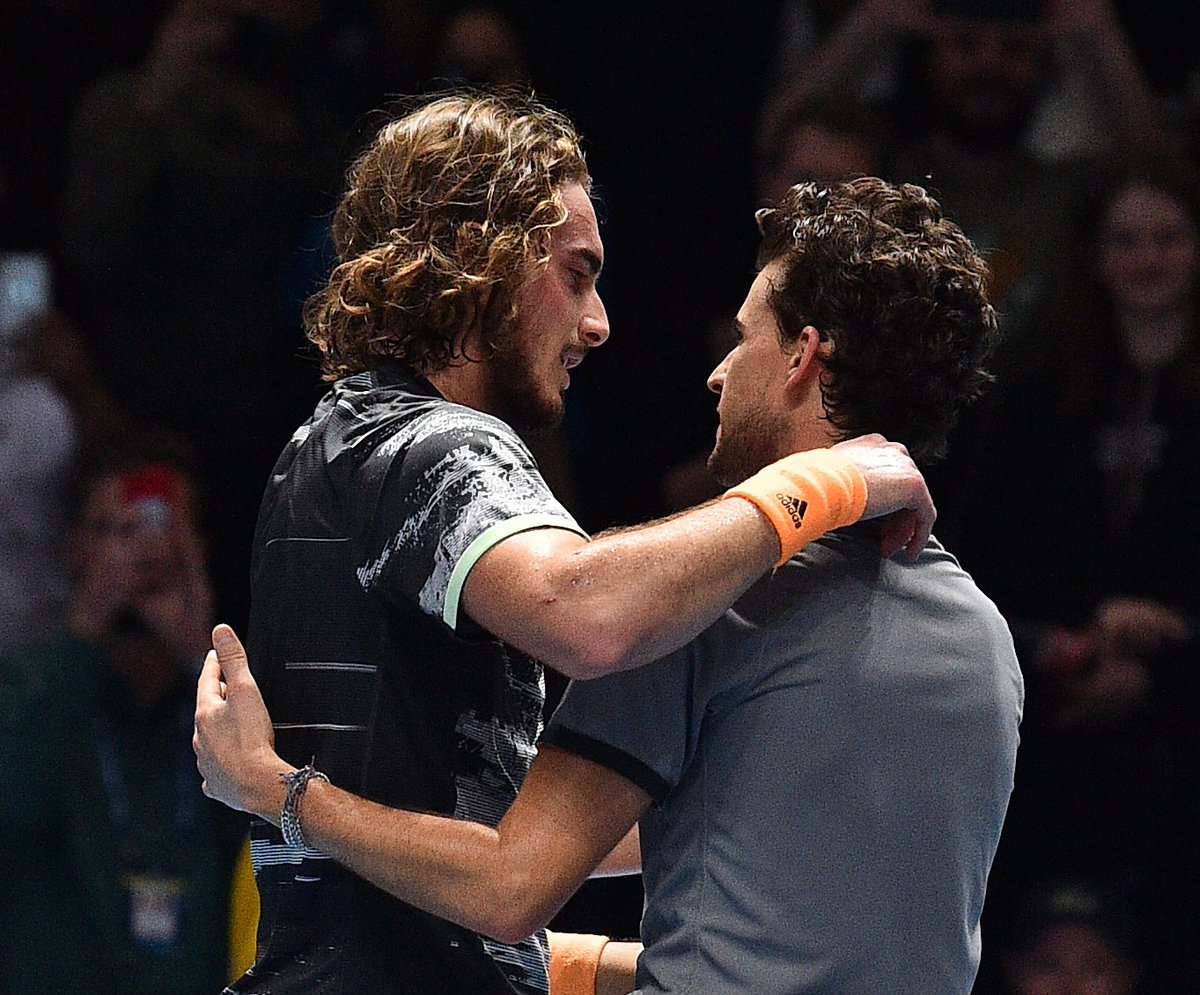 No greater source of #MondayMotivation than these two warriors.   What a match to end the 2019 #ATPTour season    #NittoATPFinals <br>http://pic.twitter.com/jWXaaEGkcr