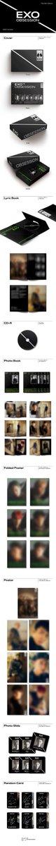 Detail: - Lyric Book - CD-R - Photobook : 6 types - Folded Poster : 1p Random out of 6 types - Photo Slide : 1p Random out of 6 types - Photocard : 1p Random out of 12 types - 1pc Random Poster out of 7 types (limited/first press only)