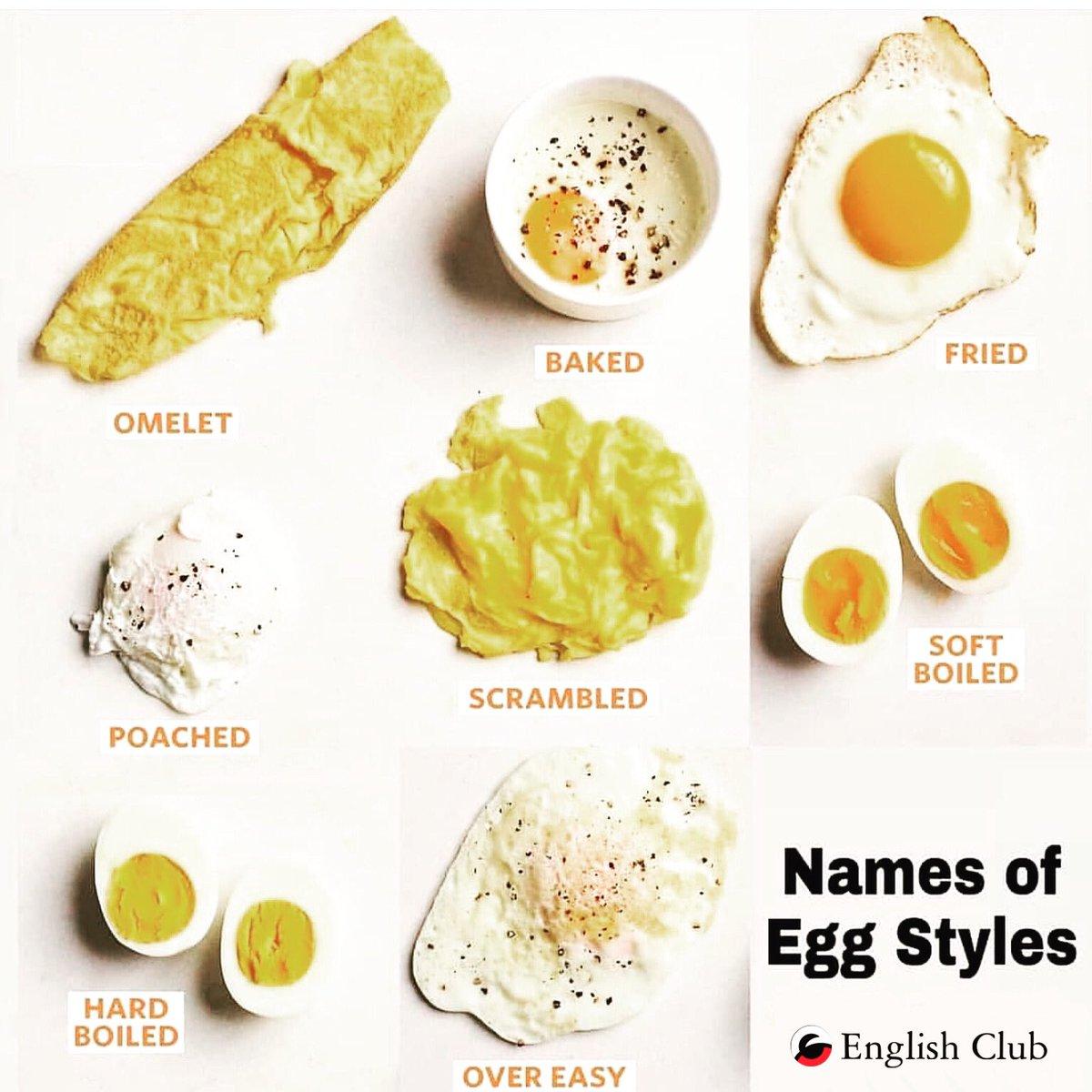Types of Eggs.. #vocabularybuilding #pronouncingthingsincorrectly #englishclubbhubaneswar #bhubaneshwarpic.twitter.com/MwJmBTsbNI