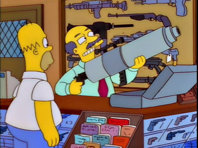 """""""...and this is for shooting down Police helicopters."""""""