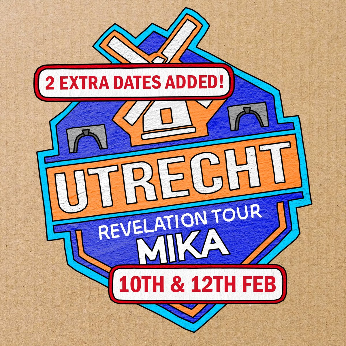 Utrecht! You sold out our date in the Netherlands so quickly that we decided to add another two shows! Tickets are on sale now at  http:// mikasounds.com    <br>http://pic.twitter.com/y7D5KFgD2h
