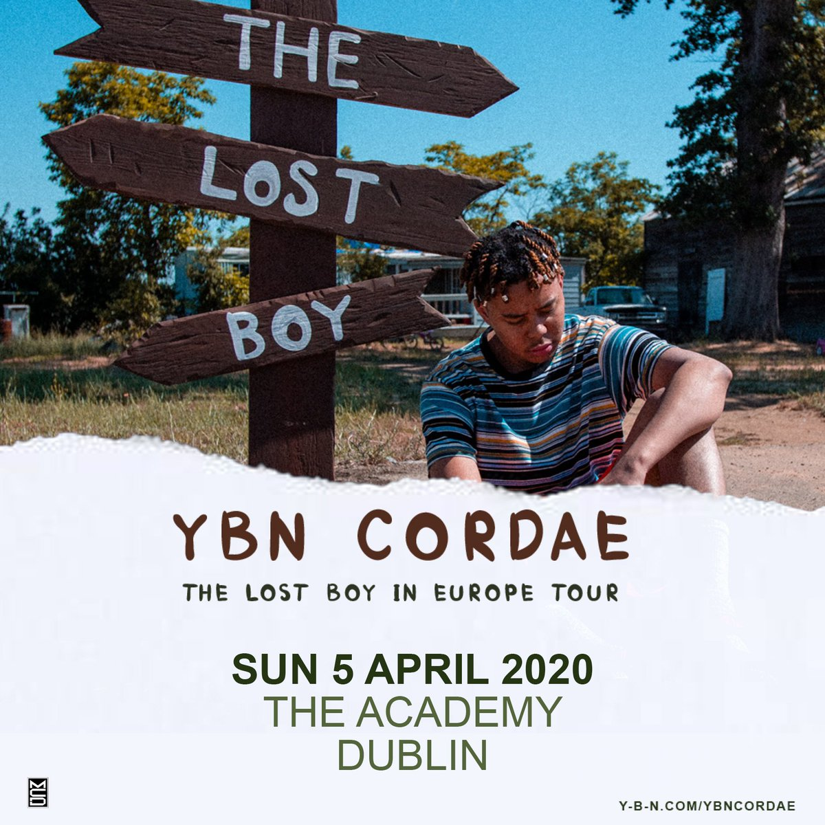 SOLD OUT // The @YBNCordae show on 5th April is now totally sold out!