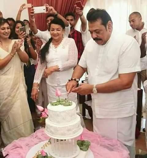 .             .                    .   HAPPY BIRTHDAY to HON. Mahinda rajapaksa.