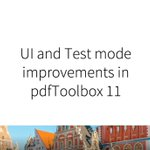 Image for the Tweet beginning: #pdfToolbox 11 is packed with