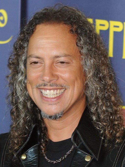 Wishing the one and only Kirk Hammett a very Happy Birthday today ! =)