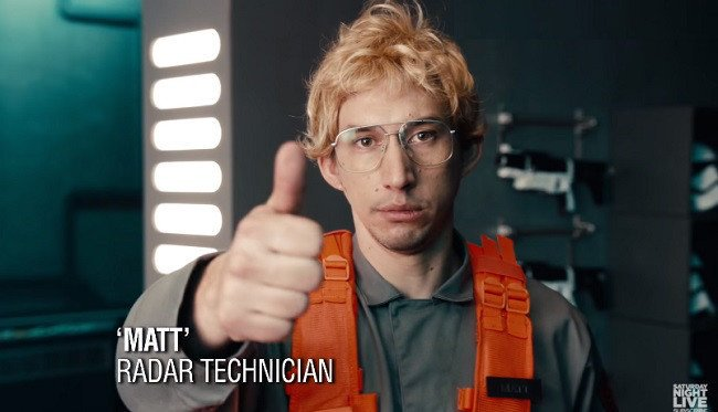 Happy 36th Birthday Adam Driver! You have to have a sense of humour about yourself.