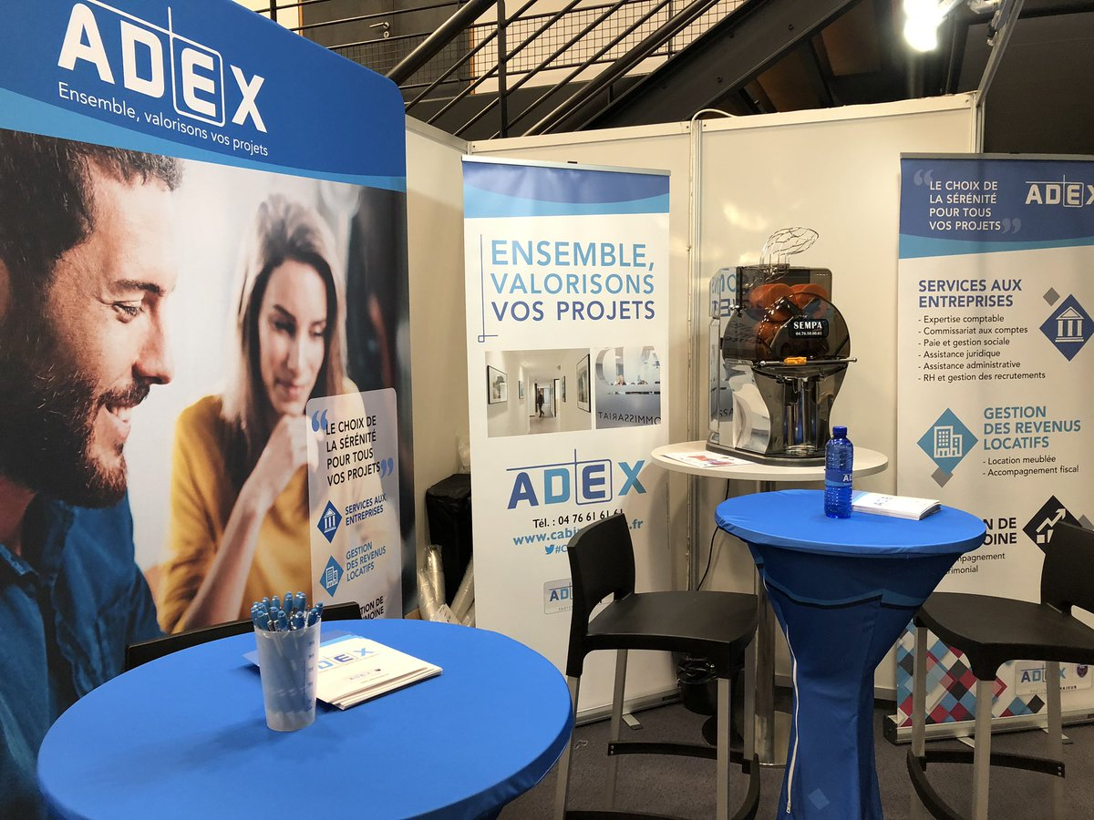 Demain #Adex sera au Forum #Osezl'Entreprise @congres_WTCgre StandN•15 On vous attend ! https://t.co/o508j4dtFo https://t.co/u61lmsLr1z