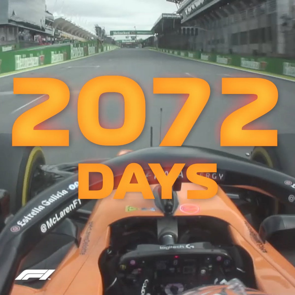It's been a while...    @McLarenF1    #BrazilGP   #F1