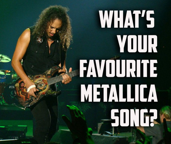 Happy Birthday to the great Kirk Hammett who turns 57 today!  Help us remember some of his finest moments...