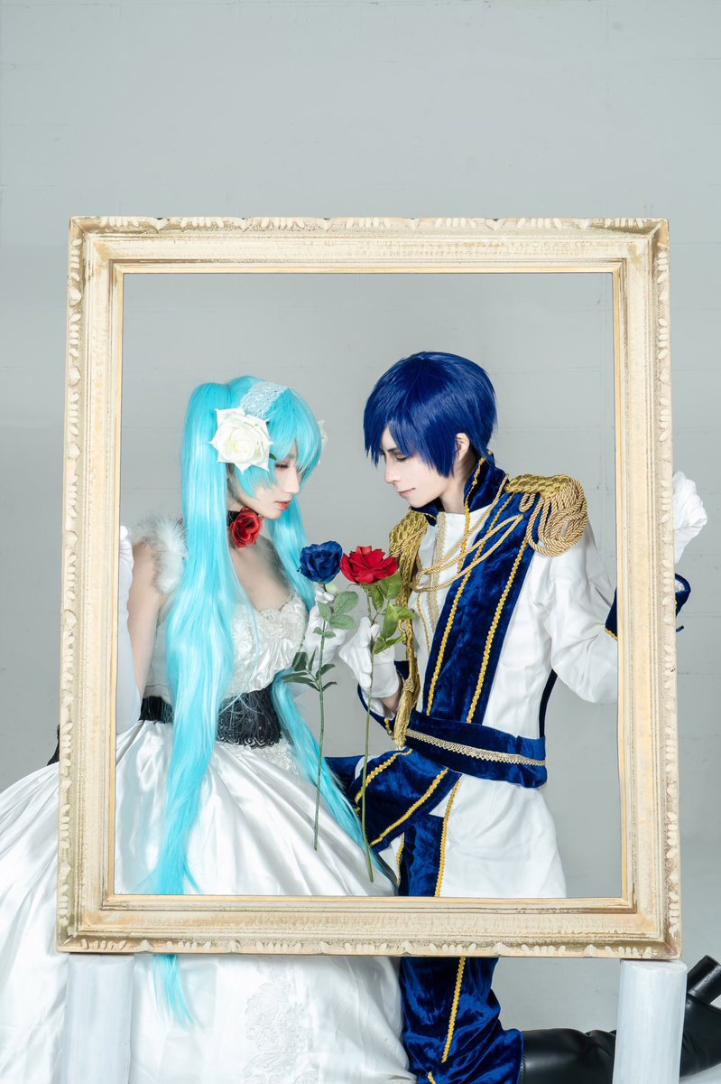 cosplay♦︎VOCALOID♢サンドリヨン     偽りの慈しみさえ     羽で包む熾天使KAITO:卯伊photo by ( @pompomlenlen )