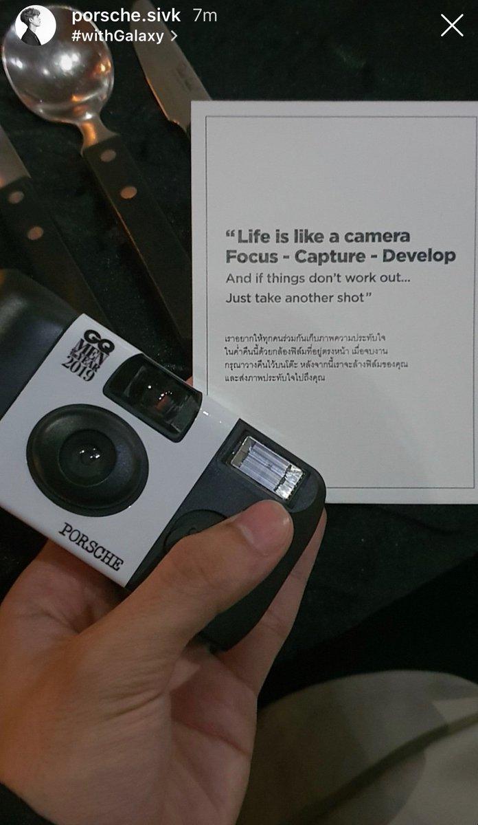 ถูกใจเขาล่ะ Don't think, just shoot  #porschesivakorn #xxsivk<br>http://pic.twitter.com/DGLmHpHot6
