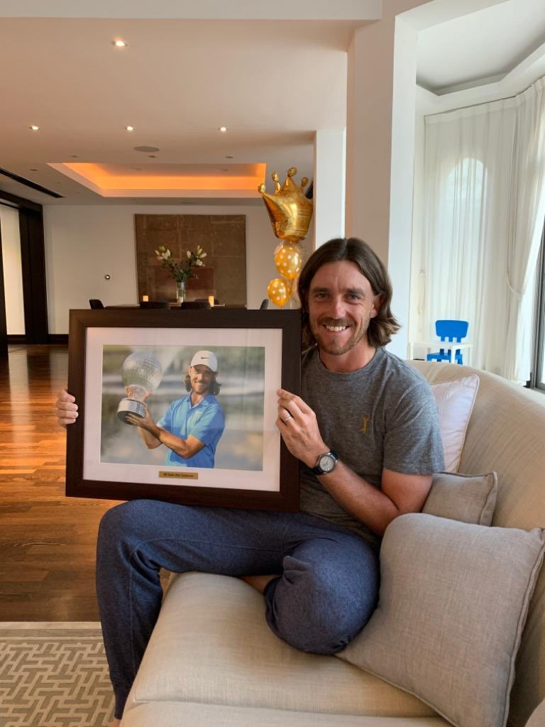 Congrats on your win, @TommyFleetwood1! And for your shirt choice too. 😉